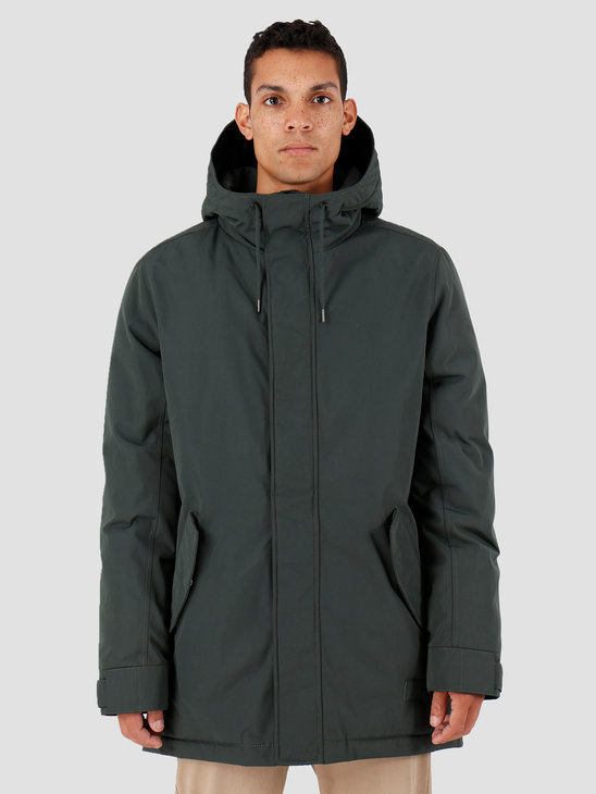 Quality Blanks QB20 Classic Parka Dark Bottle Green