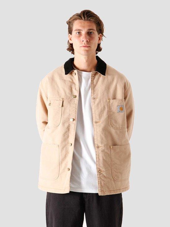 Carhartt WIP OG Chore Coat Dusty H Brown Black I027357-07E3K