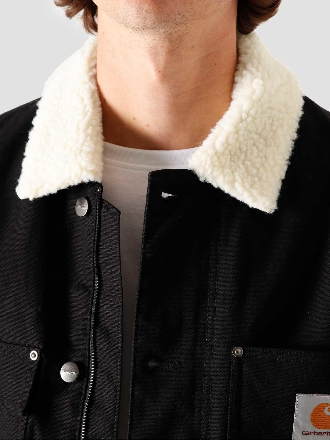 Carhartt WIP Carhartt WIP Fairmount Coat Black I028427-8901