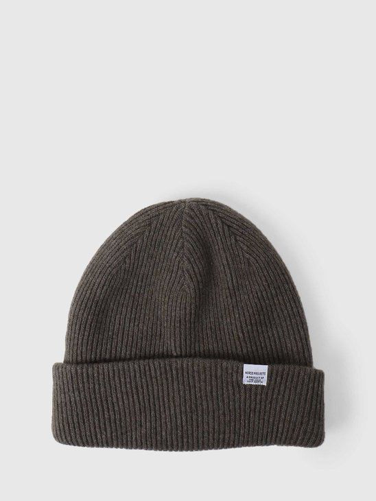 Norse Projects Norse Beanie Ivy Green N95-0569-8098
