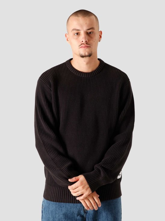 Obey Bold Label Sweater Sweaters Black 151000043BLK