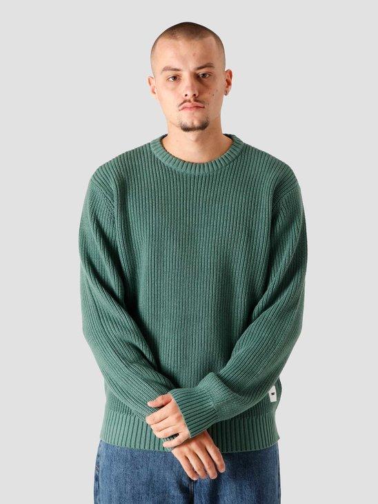 Obey Bold Label Sweater Sweaters Mallard Green 151000043MAL