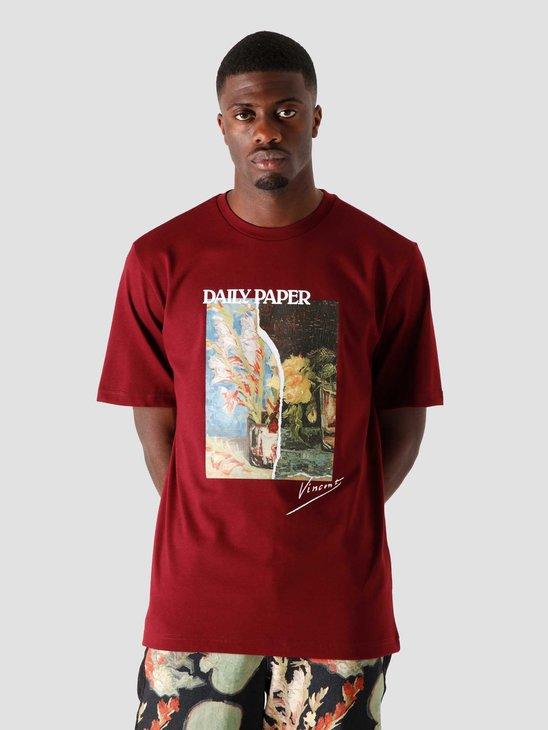 Daily Paper Van Jortaw T-Shirt Tawny Port 2041004
