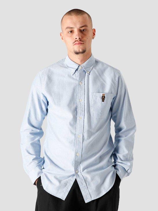 Polo Ralph Lauren Sport Shirt 4982A Bsr Blue Preppy Bear 710815583001