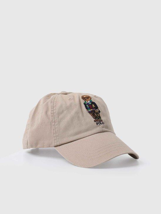 Polo Ralph Lauren Classic Sport Cap Hat Classic Khaki 710816779001