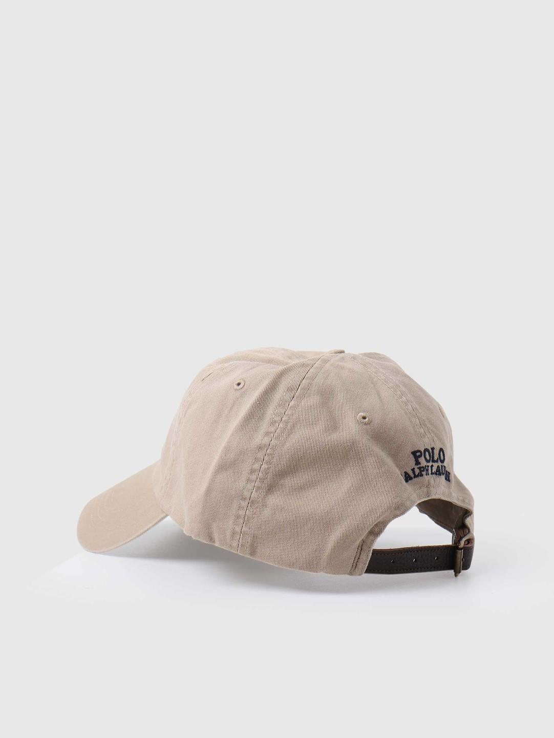 Polo Ralph Lauren Polo Ralph Lauren Classic Sport Cap Hat Classic Khaki 710816779001
