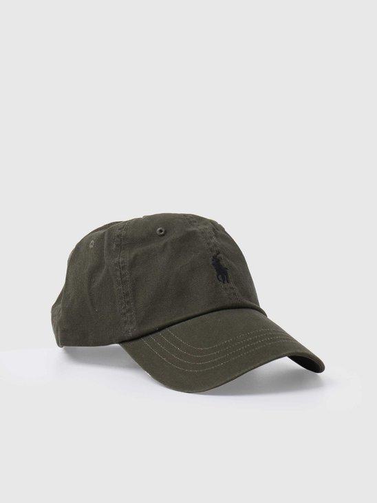Polo Ralph Lauren Classic Sport Cap Hat Company Olive 710811338001