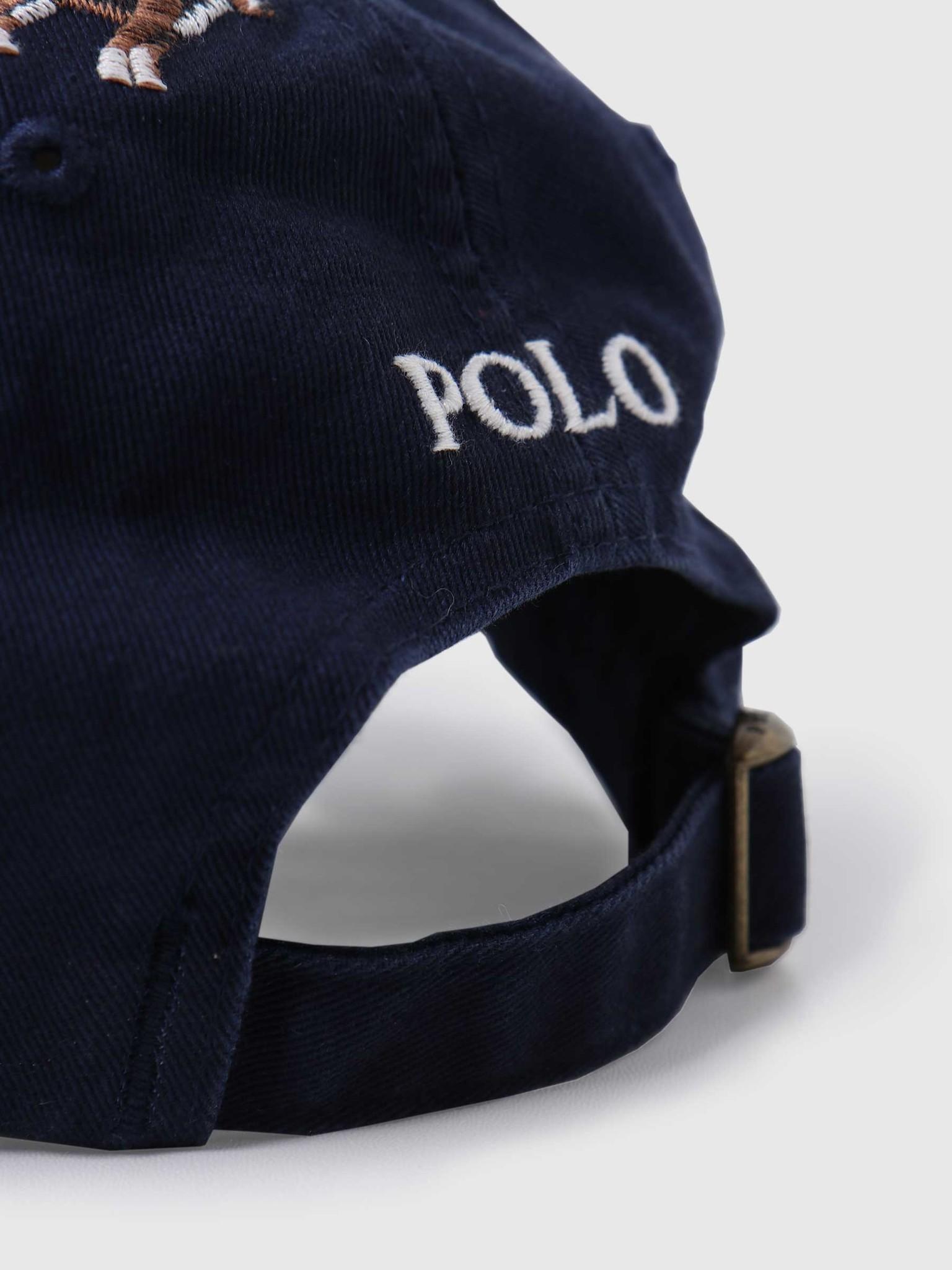 Polo Ralph Lauren Polo Ralph Lauren Classic Sport Cap Hat Cruise Navy W Hound Emb 710813152001