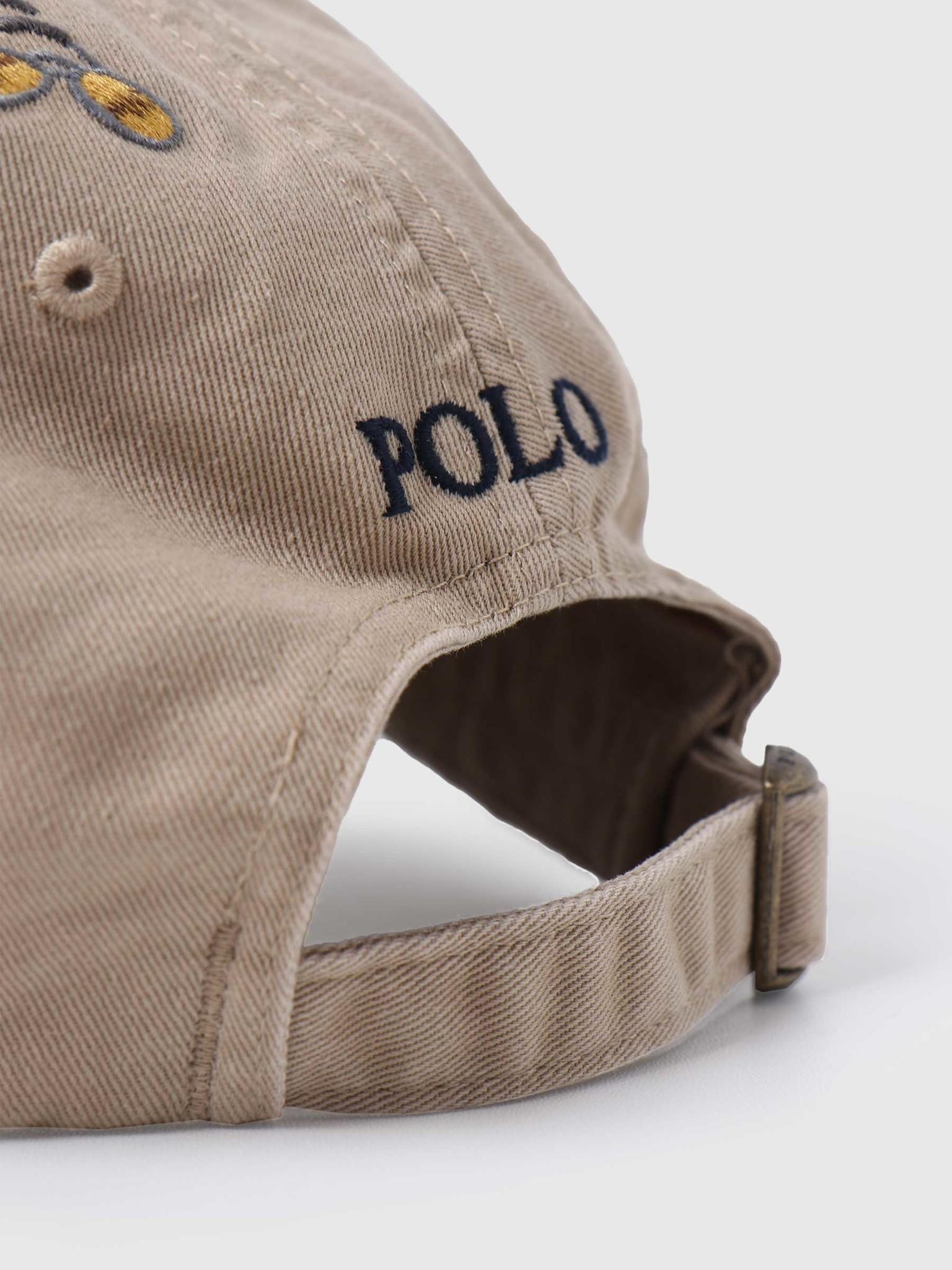 Polo Ralph Lauren Polo Ralph Lauren Classic Sport Cap Hat Luxury Tan W Wagon Emb 710813152002