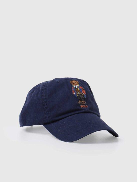 Polo Ralph Lauren Classic Sport Cap Hat Newport Navy 710816779002