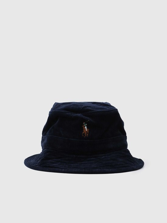 Polo Ralph Lauren Loft Bucket Hat Hunter Navy 710811343001