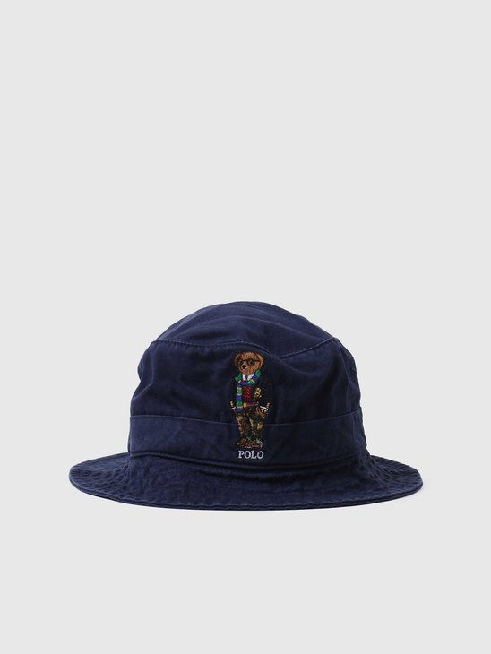 Polo Ralph Lauren Loft Bucket Hat Newport Navy 710816781002