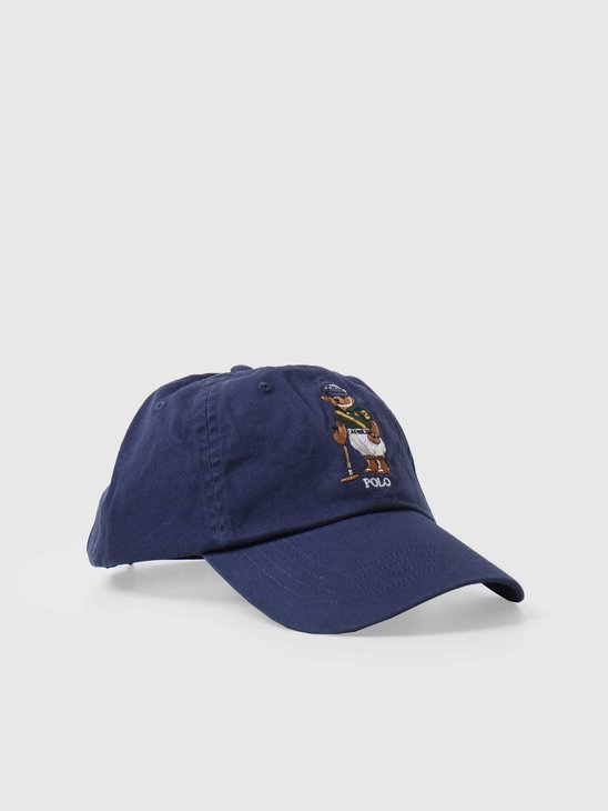 Polo Ralph Lauren Classic Sport Cap With Bear Boathouse Navy 710798508002