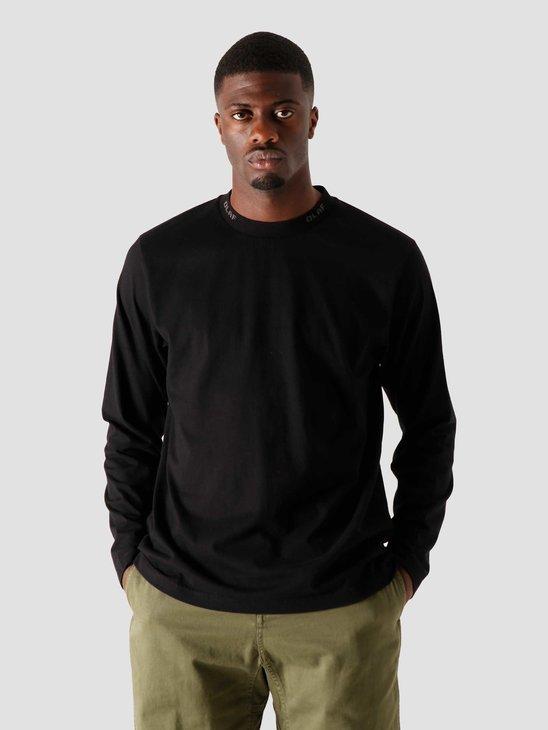 Olaf Hussein OH Branded Rib Longsleeve Black