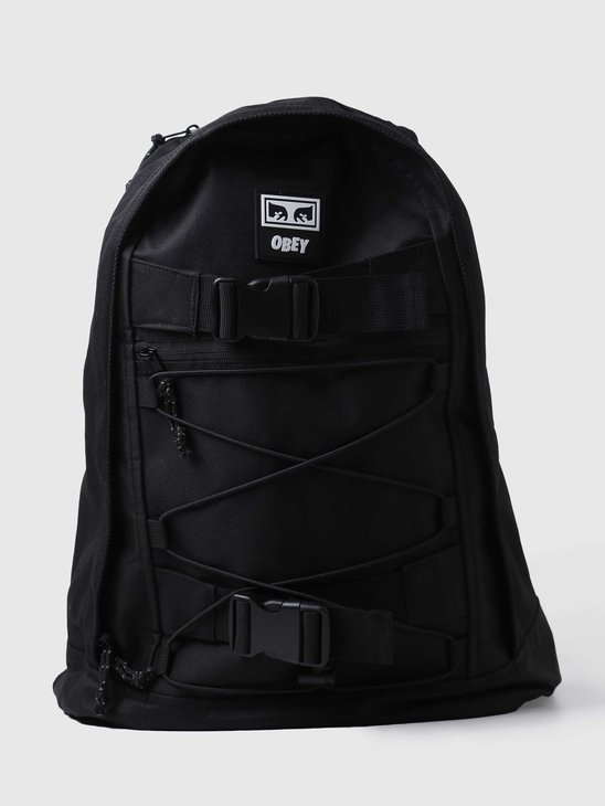Obey Conditions Utility Day Pack Black 100010139BLK