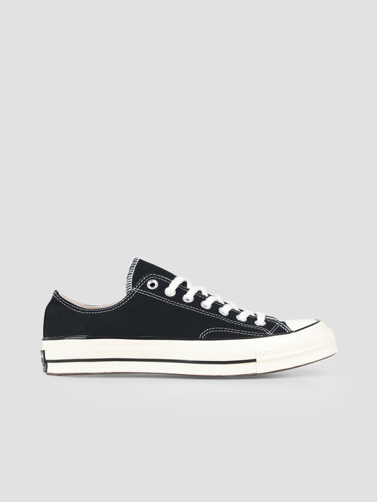 Converse Chuck 70 OX Black Black Egret 162058C