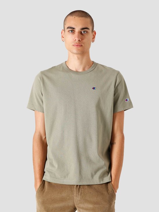 Champion Crewneck T-Shirt Vetiver 214674