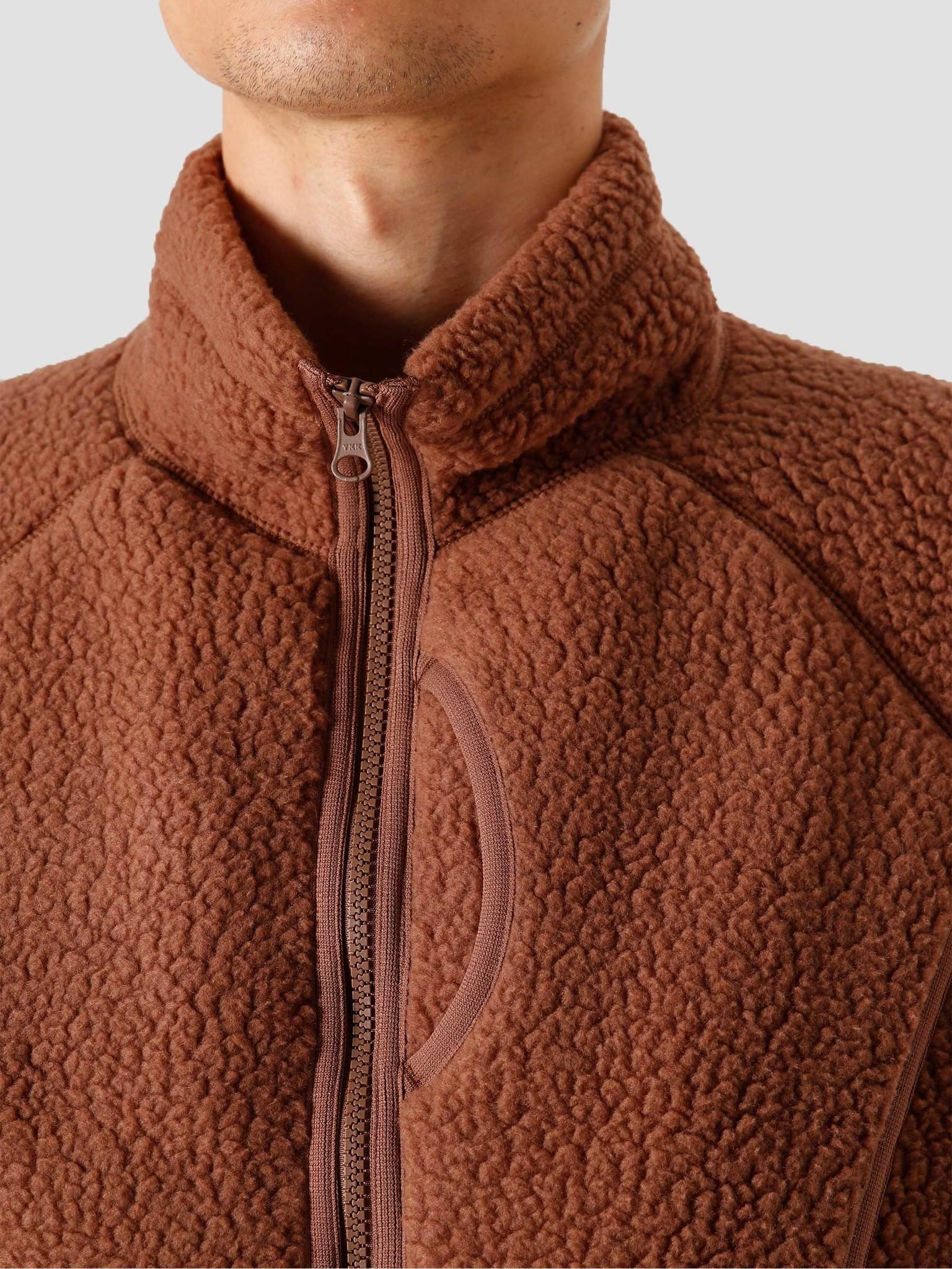 Snow Peak Snow Peak Thermal Boa Fleece Jacket Brown SW-20AU005