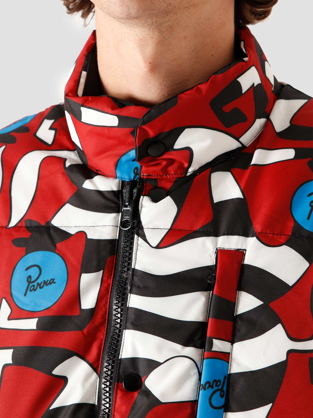 by Parra by Parra Nerveux Puffer Jacket Multi 44330