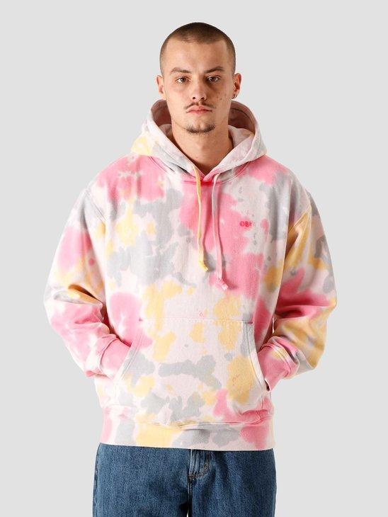 Obey Tie Dye Fleece Hoodie Yellow Multi 112470119YWM