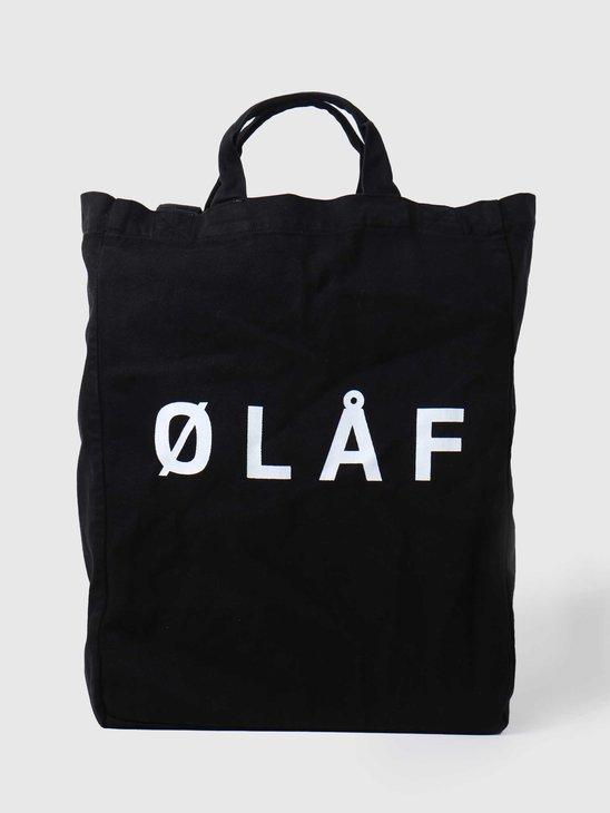 Olaf Hussein OH Tote Bag Black