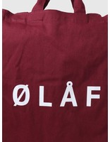 Olaf Hussein Olaf Hussein OH Tote Bag Brick Red