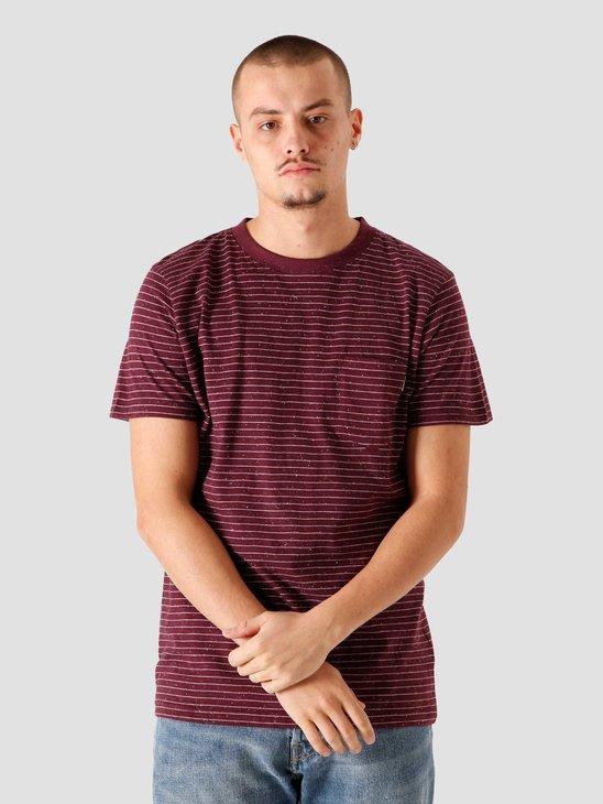 Wemoto Blake Nep T-shirt Burgundy Nep 161.228-566