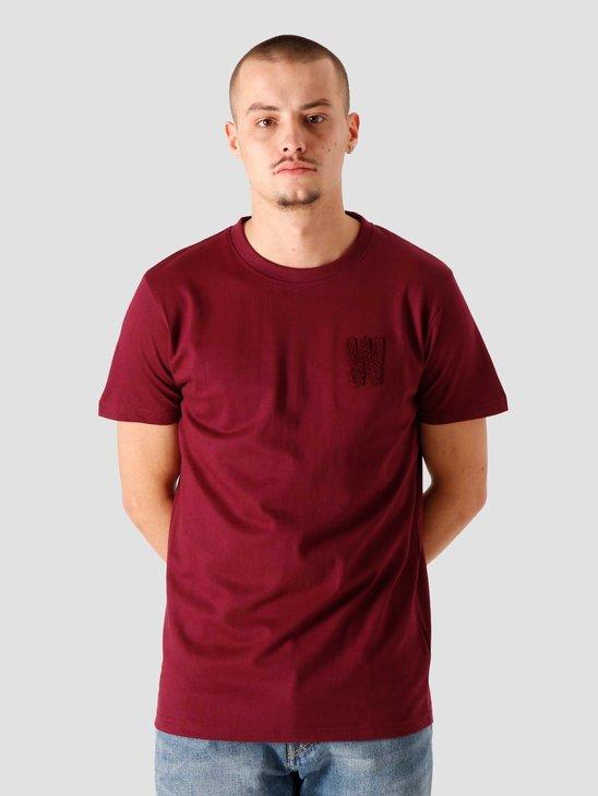 Wemoto Wildlife T-Shirt Burgundy 161.151-501