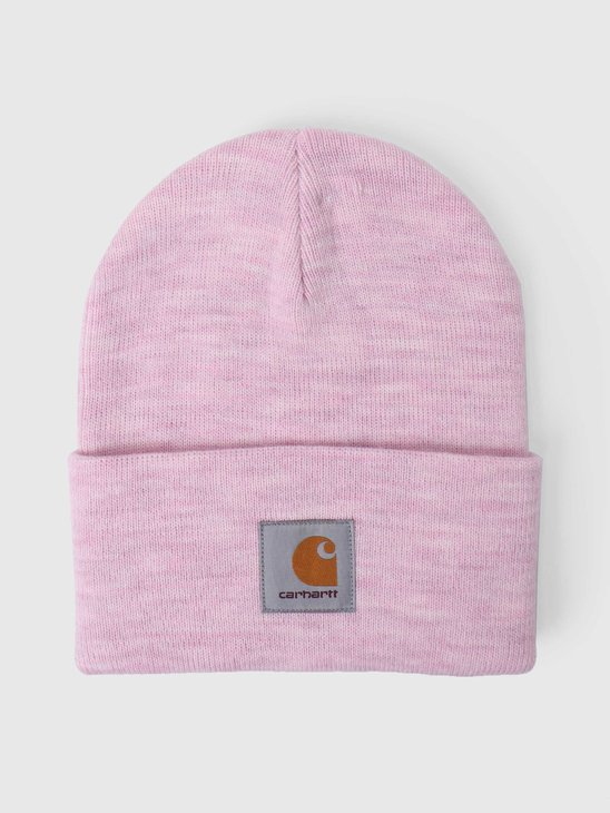 Carhartt WIP U Acrylic Watch Hat Frosted Pink Heather I020175-0F500