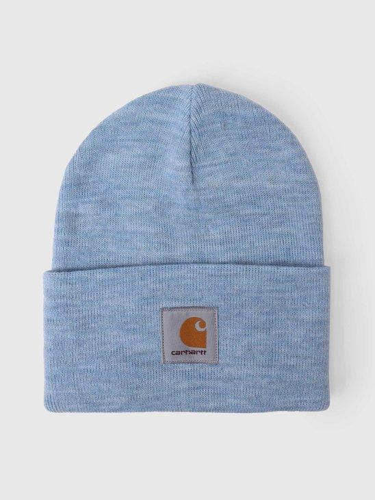 Carhartt WIP U Acrylic Watch Hat Frosted Blue Heather I020175-0F400