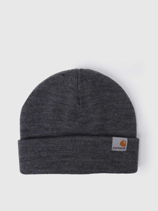 Carhartt WIP Stratus Hat Low Dark Grey Heather I025741-ZM00