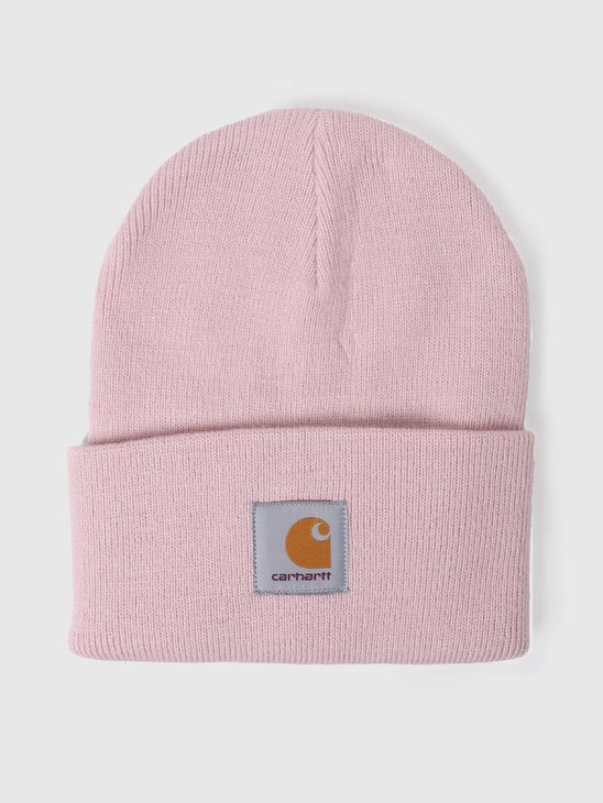 Carhartt WIP Acrylic Watch Beanie Frosted Pink I020222-0F500