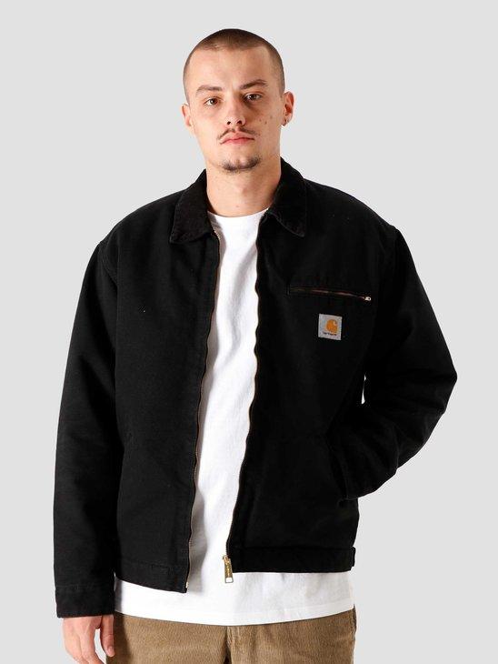 Carhartt WIP OG Detroit Jacket Black Black I027358-893K