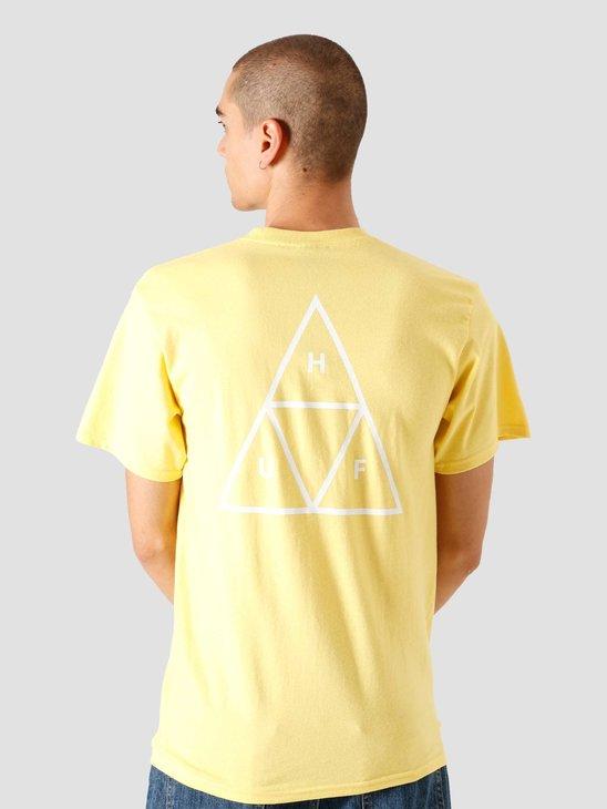 HUF Essentials TT T-shirt Yellow TS00509