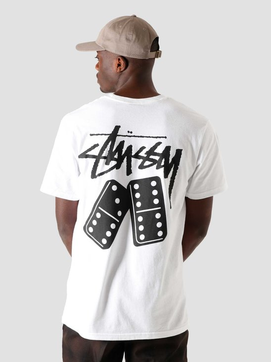 Stussy Dominoes T-Shirt White 1904570-1201