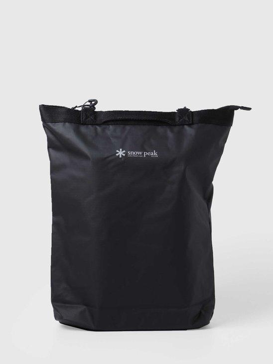 Snow Peak 2way Tote Bag Black UG-738