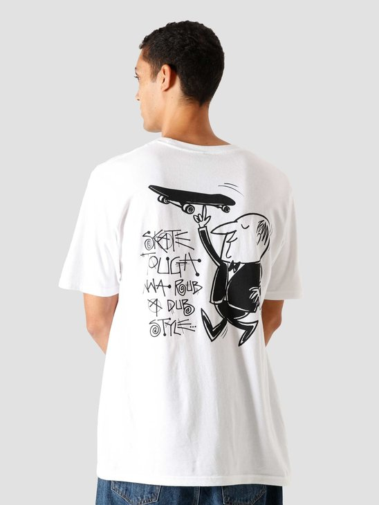 Stussy Waiter T-Shirt White 1904588-1201