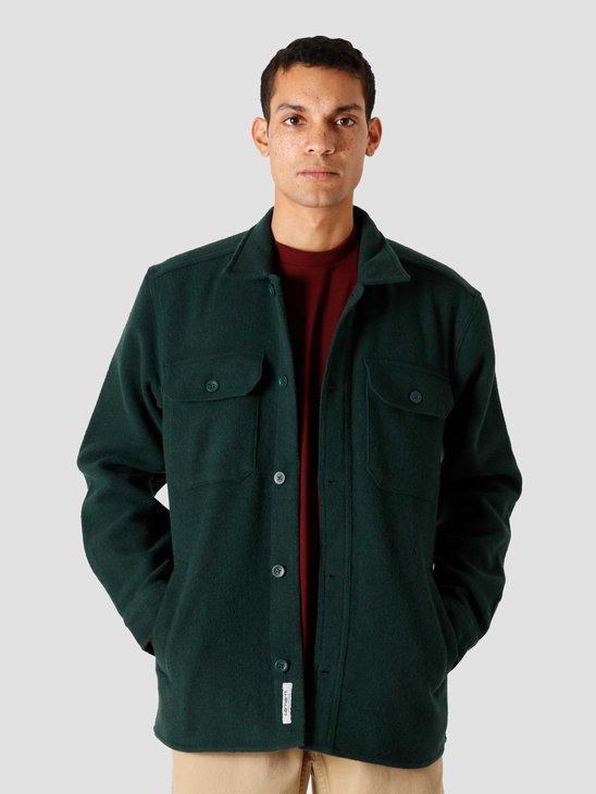 Carhartt WIP Owen Shirt Jac Bottle Green I028226-3C00