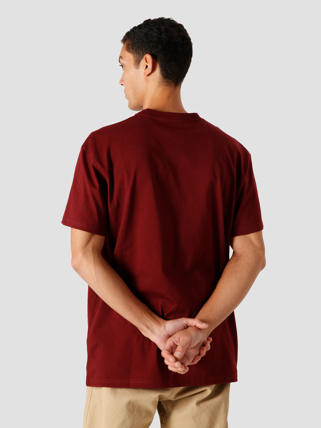 Carhartt WIP Carhartt WIP Chase T-Shirt Bordeaux Gold I026391-JD90