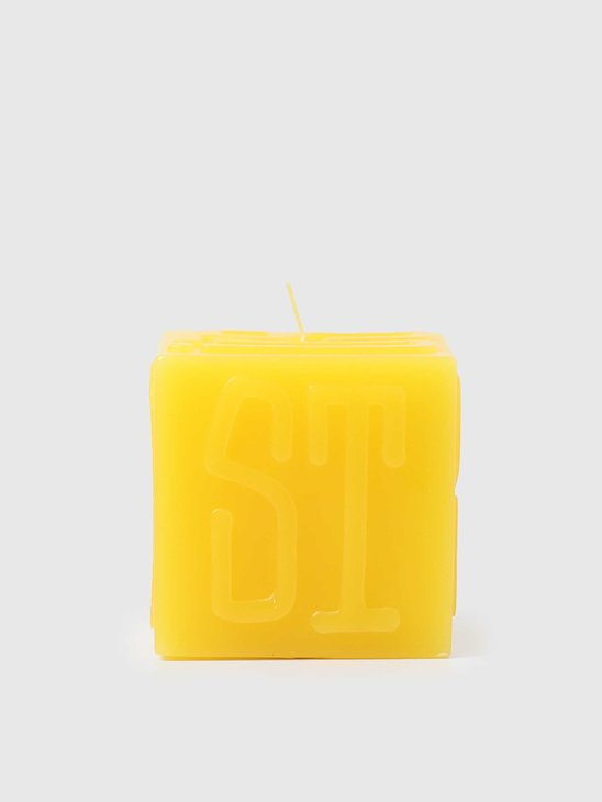 Stussy Stussy Cube Candle Yellow 138719-0201