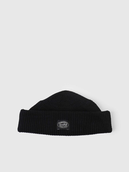 Snow Peak WG Stretch Knit Cap Black UG-852