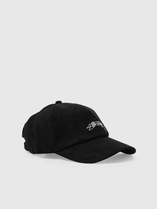 Stussy Microfiber Low Pro Cap Black 131958-0001