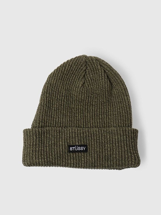 Stussy Small Patch Watchcap Beanie Olive 132988-0403