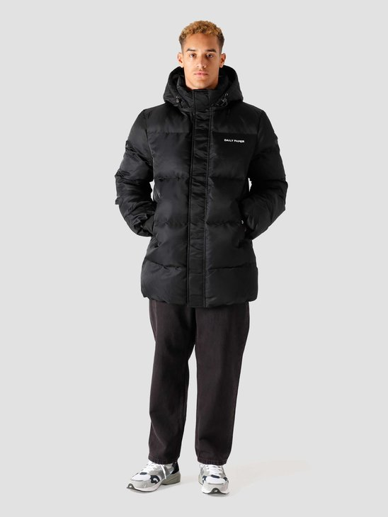 Daily Paper Epuffa Mid Jacket Black 2022070