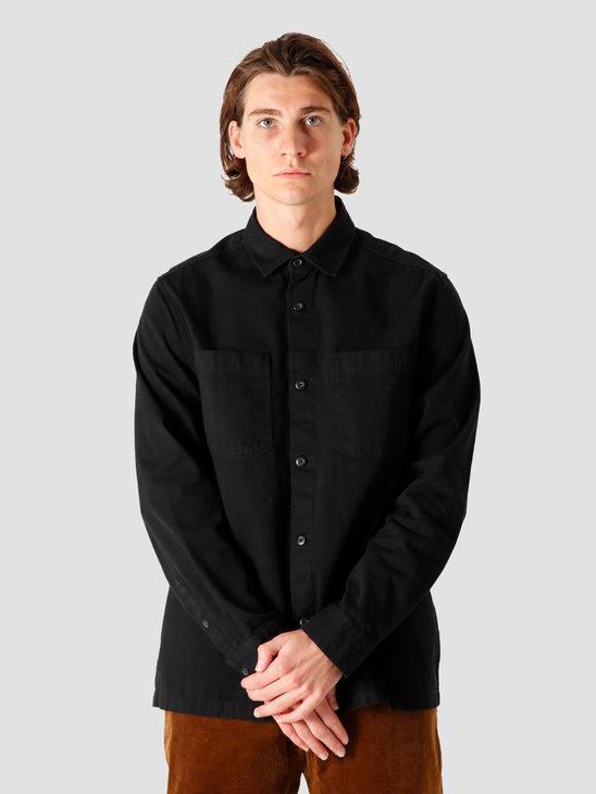 Quality Blanks QB42 Overshirt Black