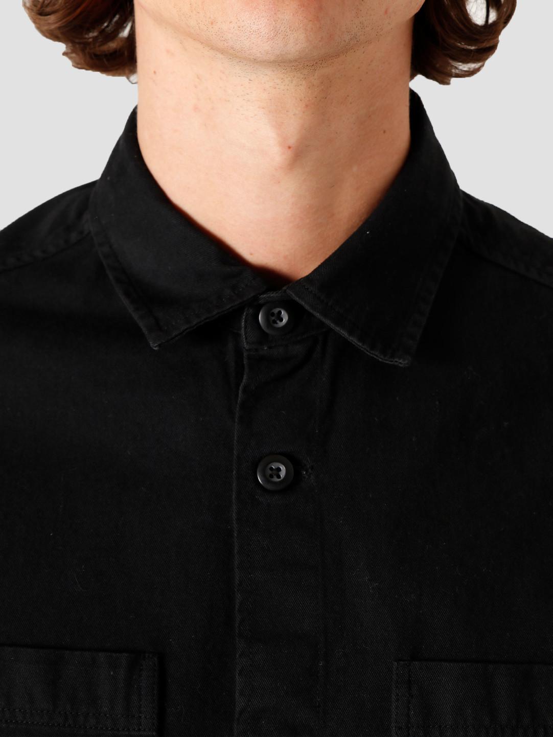 Quality Blanks Quality Blanks QB42 Overshirt Black