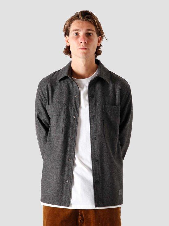 Quality Blanks QB43 Wool Shirt Grey