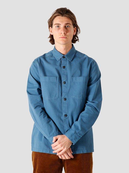 Quality Blanks QB42 Overshirt Misty Blue