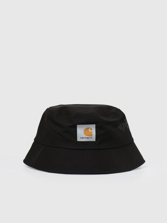 Carhartt WIP Gore Tex Line Bucket Hat Black I028419-8900