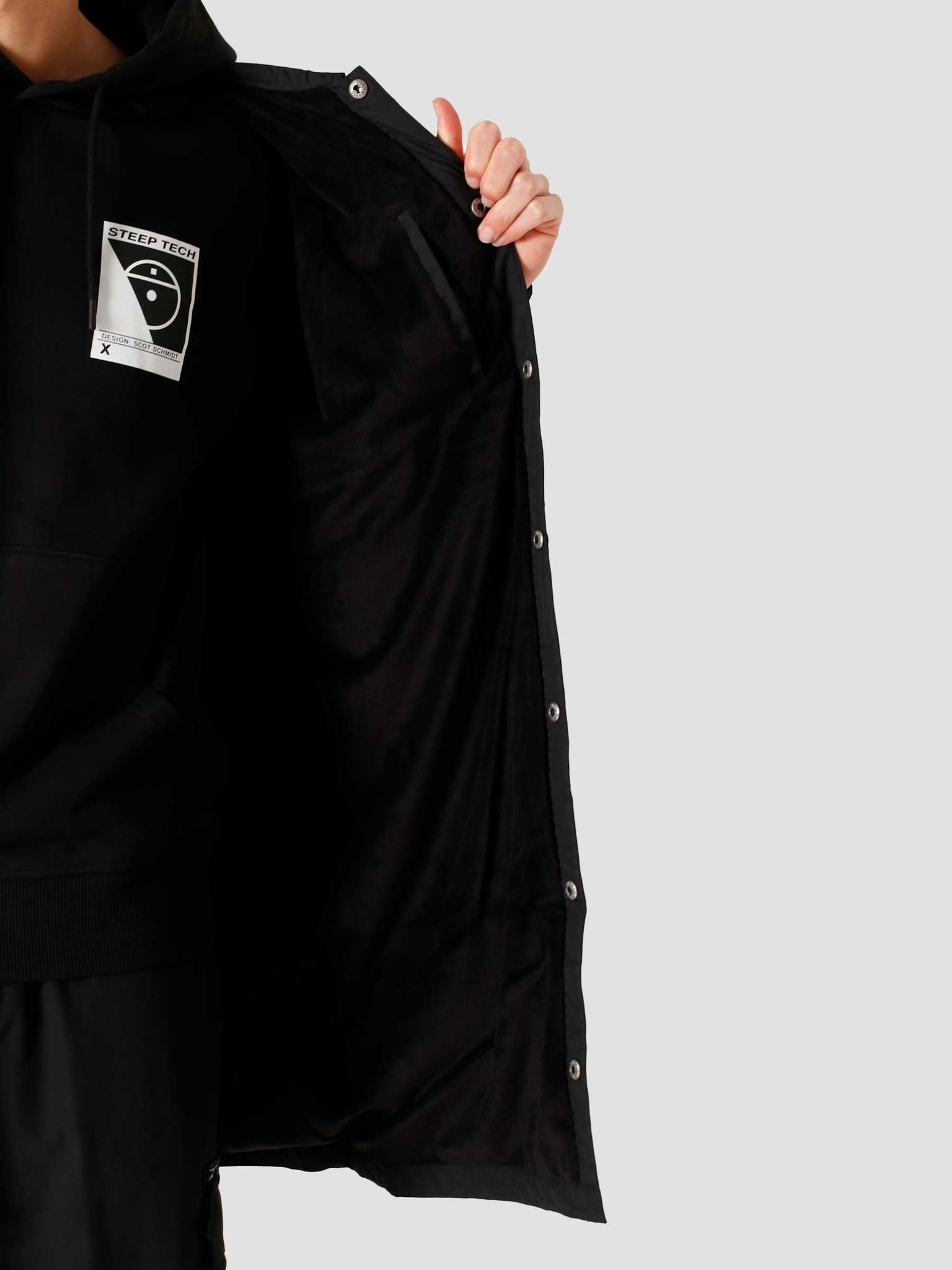 The North Face The North Face Telegraphic Coach Jacket Black NF0A4SWLJK3